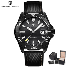 PAGANI DESIGN Men's Watches Luminous Auto Date 30M Waterproof Mechanical Automatic Wrist Watch Male Military Sport Clock 2017