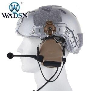 Image 4 - WADSN Comtac השני Softair אוזניות עם Peltor קסדת רכבת מתאם סט עבור מהיר קסדות צבאי Airsoft טקטי C2 אוזניות Z031