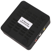 Analog Video Recorders Converter With AV Video Input HDMI Output MicroSD Card