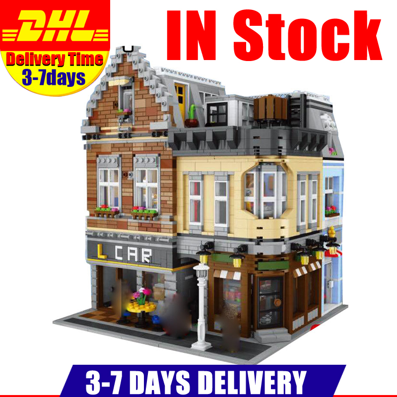 IN Stock LEPIN 15034 4210Pcs MOC Series The New Building City Set Building Blocks Bricks Educational Toys Model As Boy`s Gifts new lepin moc creative series the assembly square set building blocks bricks boy toys compatible educational figures model gifts