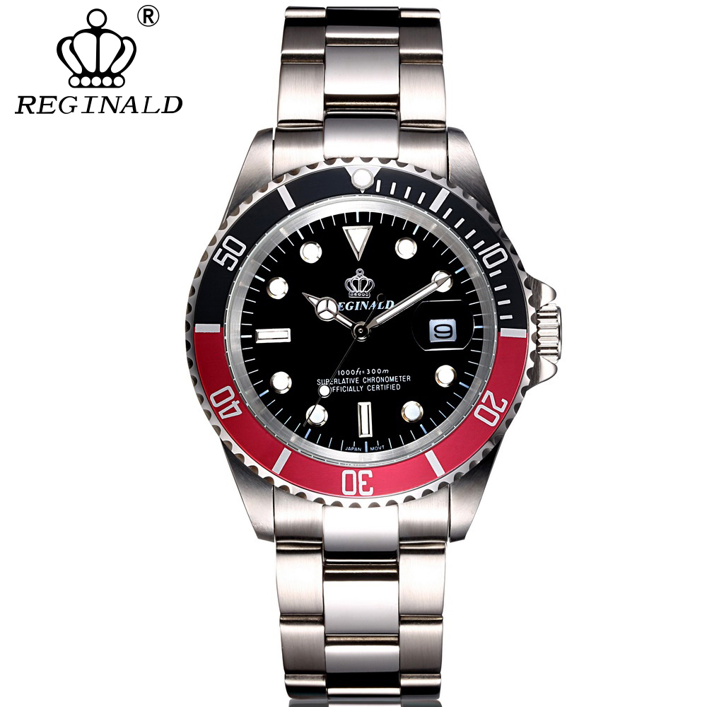 Reginald Luxury Brand Diving Luminous Sports Watch Rolex Style 1