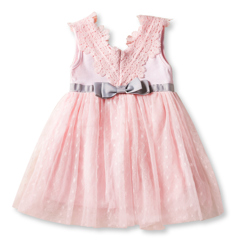 Cute Baby Girl Dress Cotton Children Kid Baby Girls Dresses Flower Baby spring summer Clothing For home Casual Wear Clothes Girl