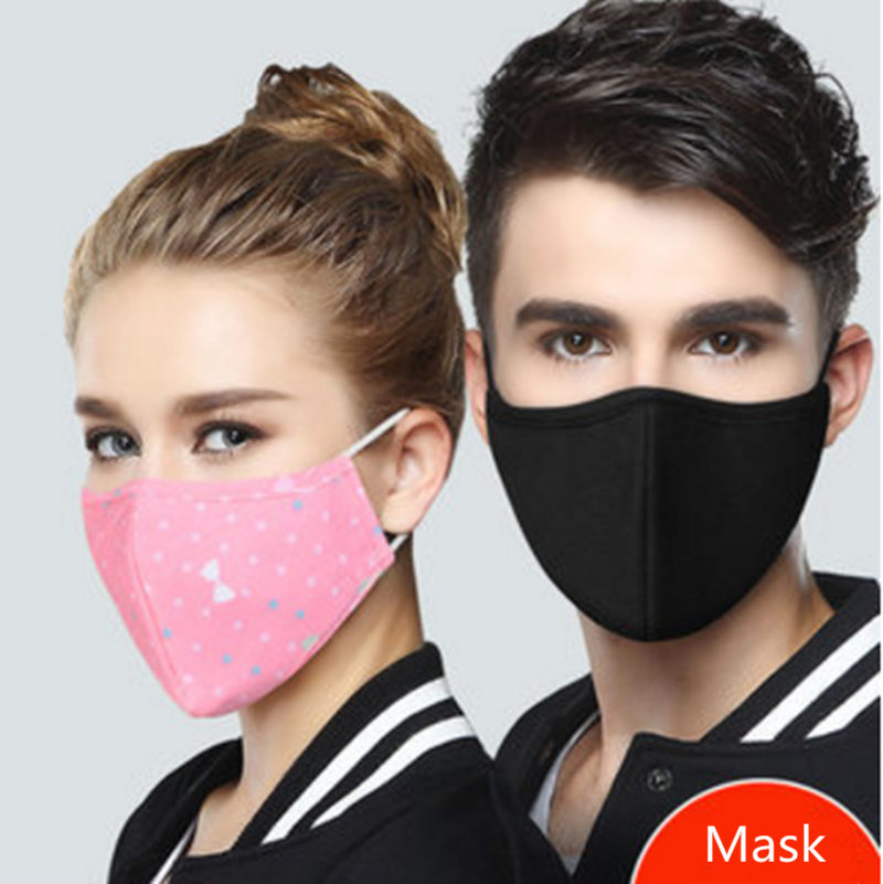 Cotton Mask Women Dustproof Sunscreen Breathable Male Can Be Cleaned Easily Breathable Tide Summer Personality Thin Section