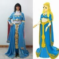 The Legend of Zelda: Breath of the Wild Zelda Cosplay Costume Halloween Uniform Custom Made Any Size
