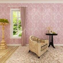 hanmero manufacture directly sale nonwoven foaming wallpaper for walls living room home decor improvement qz0155 papel de parede