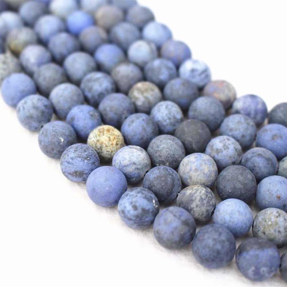 Natural Dumortierite smooth round Beads 6mm 8mm 10mm 12mm Dumortierite Beads supply,Loose Beads Wholesale