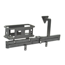 RC Crawler Metal Rear Bumper and Spare Tire Rack /Carrier for 1/10 DEFENDER D90 D110 Car
