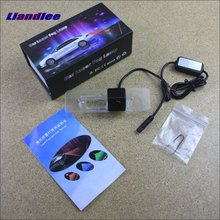Liandlee Car Tracing Cauda Laser Light For Nissan Tiida Versa Latio 2014 2015 Special Anti Fog Lamps Rear Anti-collision Lights