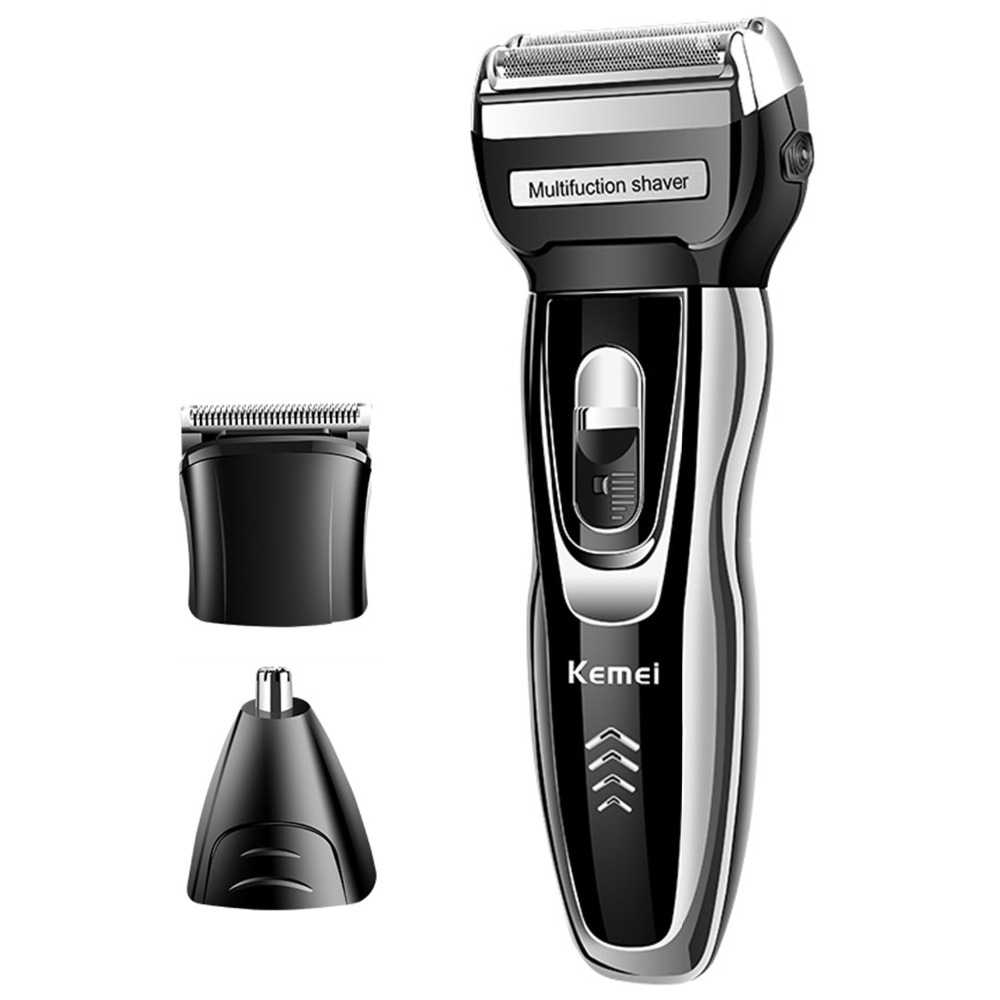 3in1 Rechargeable hair shaver for men beard electric shaver body groomer face electric razor bald head shaving machine facial