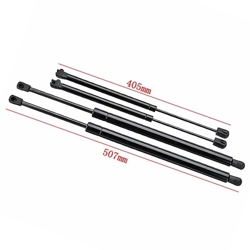 4 шт. задние окна багажника загрузки газовые стойки поддержка бар для Nissan Pathfinder R51 2005 2006 2007 2008 2009 2010 2011 2012
