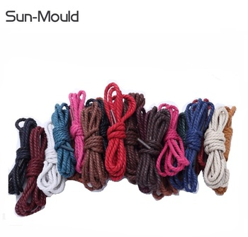 new 100% cotton shoe laces sports shoes running boots tie shoelaces 120cm 500pcs/lot free shipping