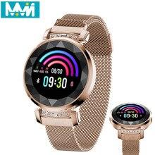 2019 BM88 Women Smart Bracelet  Heart Rate monitoring Sport smart Watch IP68 Waterproof Swimming Reloj inteligente pk h1 h2