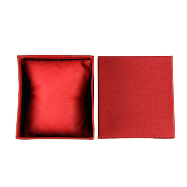 Superior Durable Present Gift Box Case For Bracelet Bangle Jewelry Red Watch Box