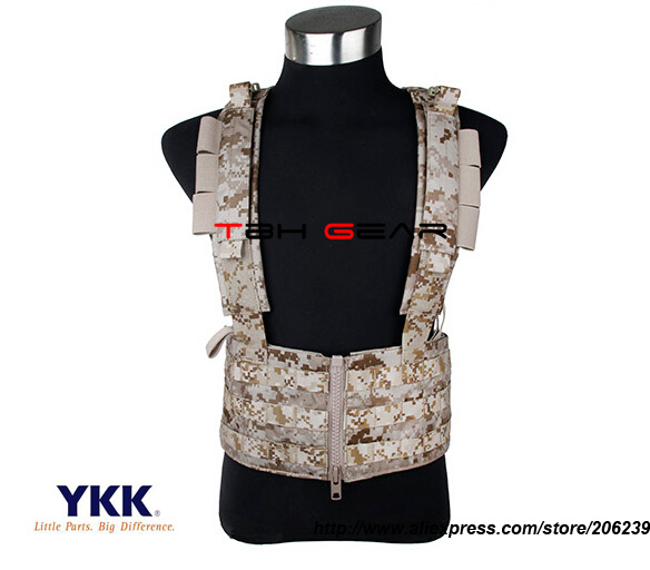 TMC Sniper Chest Rack AOR1 Light MOLLE Military Chest Rig Tactical Gear(SKU12050832) tmc field shirt