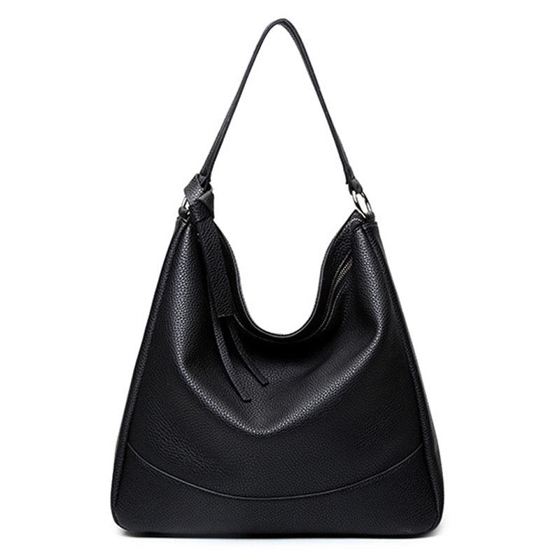 Leather Women Handbag 2017 Luxury Designer Handbags High Quality Brand Vintage Sling Tote Shoulder Bag Pochette Sac Femme In Top Handle Bags From