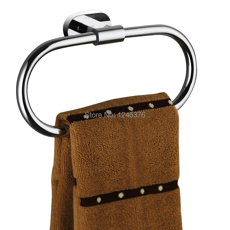 ФОТО Free shipping All Solid brass chrome Plating 200mm Towel ring Towel rack Towel holder Bathroom accessories