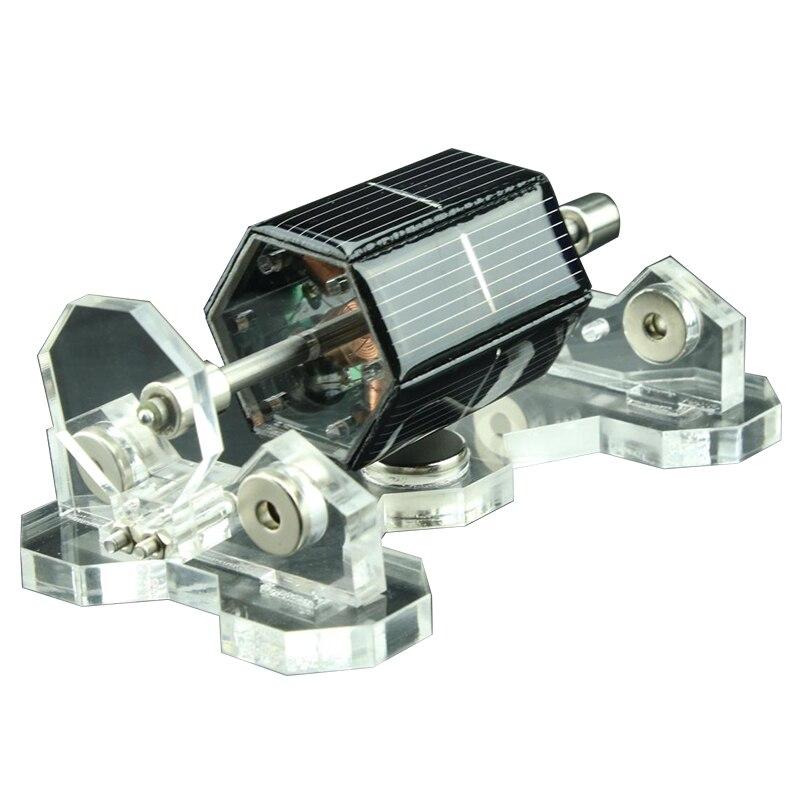 DIY Solar Motors 300-1500Rpm Manual DIY Creative Mendocino Magnetic Levitation Solar Motor For Laboratory Teach & Fun Gift Toy