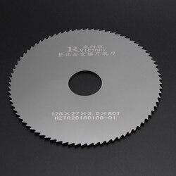 2 piezas diámetro 125mm hojas de sierra de acero de tungsteno de corte de metal sierra circular de corte herramienta de alta calidad
