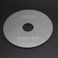 2Pcs Diameter 125mm Saw Blades Tungsten Steel Cutting metal circular saw blades Cutting Tool High Quality