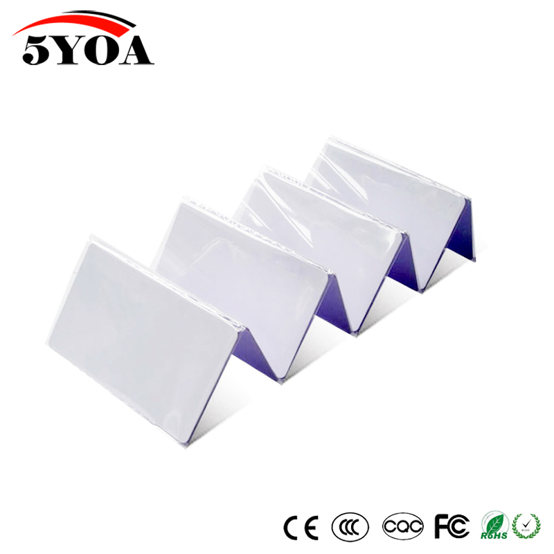 10pcs EM4305 T5577 Duplicator Copy 125khz RFID Card Proximity Rewritable Writable Copiable Clone Duplicate-in Access Control Cards from Security & Protection