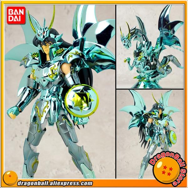 Japan Anime Saint Seiya Original BANDAI Tamashii Nations Saint Cloth Myth Action Figure - Dragon Shiryu God Cloth saint