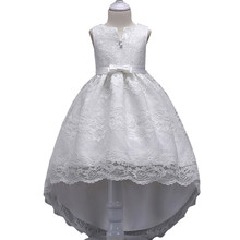 Flower Lace Pageant Party Princess Formal Prom Gowns Size 3-14 years