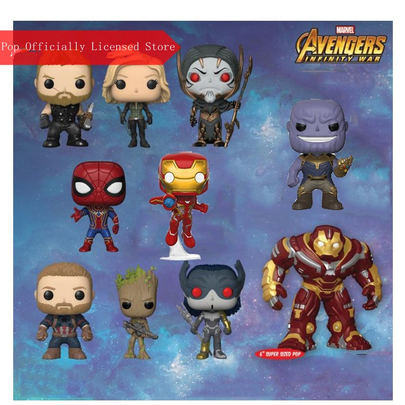 Funko pop Official Marvel: Avengers Infinity war - Iron Spider Vinyl Action Figure Collectible Model Toy with Original Box