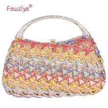 Fawziya Fischschuppen Abend Handtaschen Mit Griff Kristall Abend Handtaschen