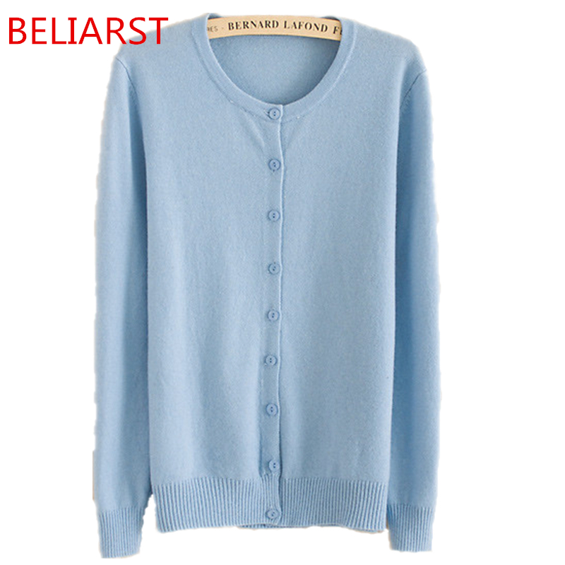 Autumn And Winter Female New Cashmere Cardigan V-Neck Knit Shirt Slim Korean Version Of The Big Yards Short Sweater Women Dress