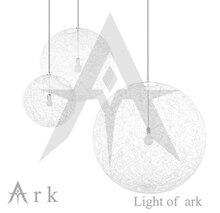 Бесплатная доставка диаметр 20 см белый плетеные мяч подвесной современный краткий ротанга балкон шар лампы