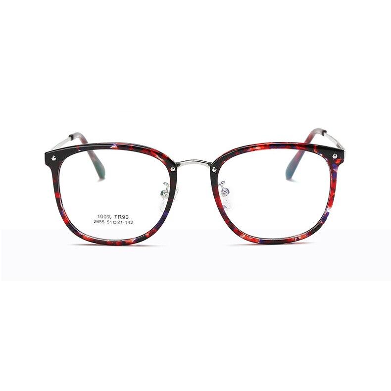 f09c819ecd Fashion women Eye Glasses Unisex Optical Clear Glasses Frame Myopia ...