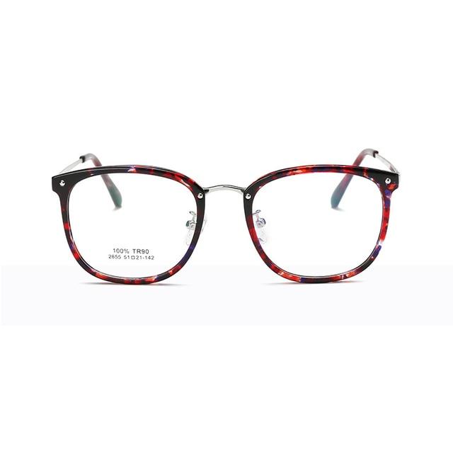 e7af9c560af Fashion women Eye Glasses Unisex Optical Clear Glasses Frame Myopia vintage Spectacles  Frame Oval eyeglasses oculos