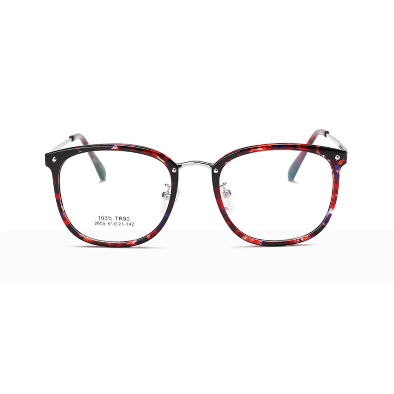 Mode frauen Brillen Unisex Optische Klare Brillengestell Myopie ...