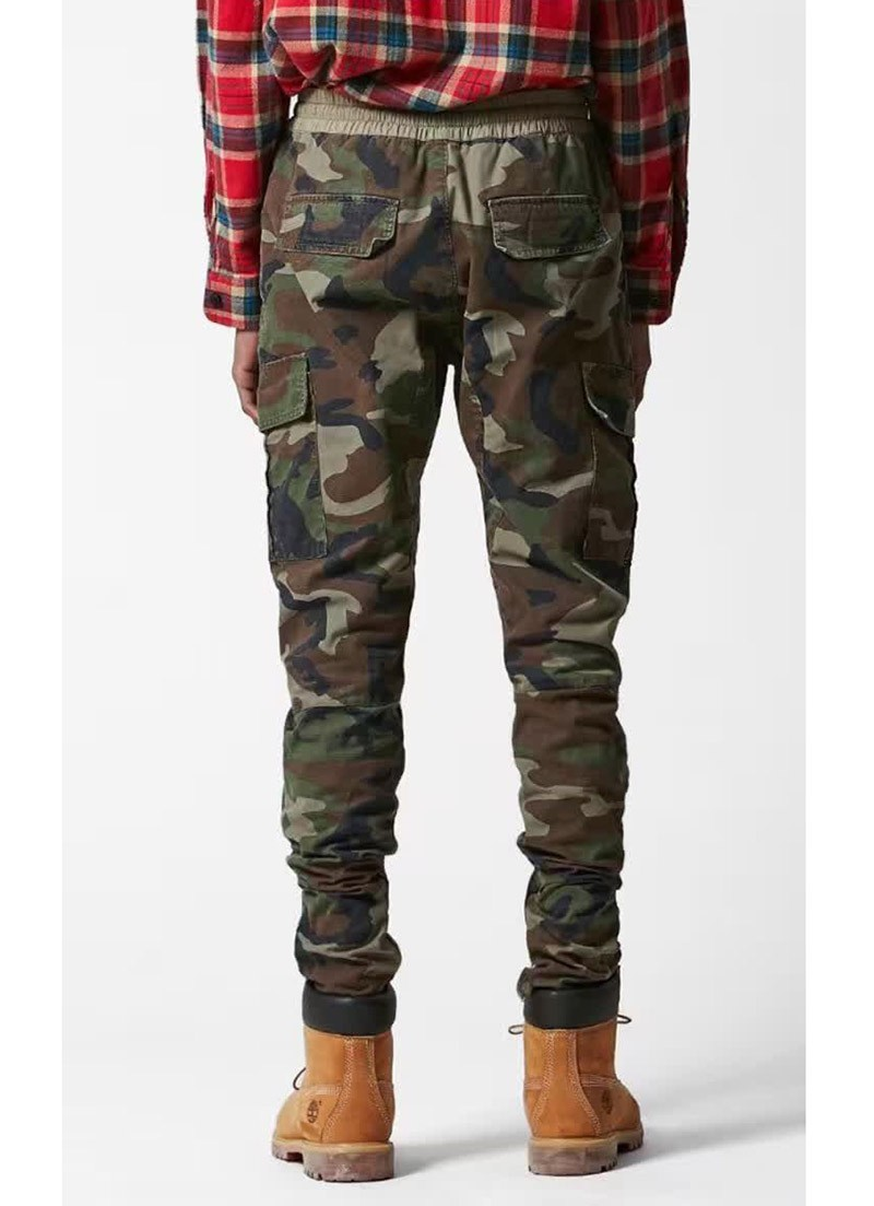 new cheap new appearance lowest price New S 2XL urban brand clothing chinos camo camouflage trousers ...