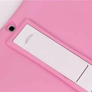 Image 4 - Fall Für Samsung Galaxy Tab 4 10,1 T530 531 T535/Tab 3 10,1 P5200 P5210 P5220 Weiche Silicon Gummi kinder Stoßfest Tablet fall