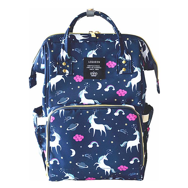 HTB1YY5YKk9WBuNjSspeq6yz5VXa4 Lequeen Fashion Mummy Maternity Nappy Bag Large Capacity Nappy Bag Travel Backpack Nursing Bag for Baby Care Women's Fashion Bag