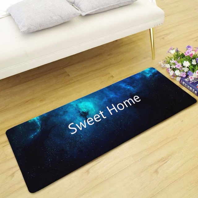 Blue Welcome Bitches Sweet Home Living Room Doormat Kitchen Carpet