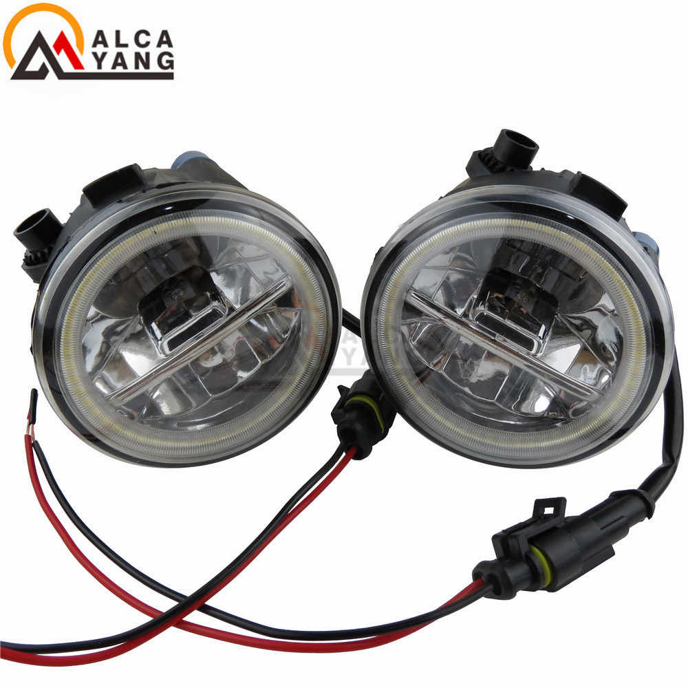 Malcayang CCC Lights DRL For NISSAN PATROL 3/III Y62 NV200 Box NV200 EVALIA Bus CUBE Z12 Juke Murano Z51 2007-ON Fog Lamps