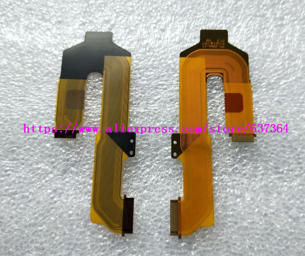 2PCS/New LCD Flex Cable For Sony NEX-3N ILCE-5000 A5000 3N Digital Camera Repair Part