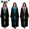 Весна и лето осень одежда большой женский свободные Индонезии и Малайзии Мусульманские платья халаты Мусульманские Арабские одежды традиционный