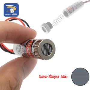 Image 4 - 650nm 5mW Red Point / Line / Cross Laser Module Head Glass Lens Focusable Focus Adjustable Laser Diode Head Industrial Class