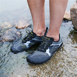 Image 5 - Summer Water Shoes Men Beach Sandals Upstream Aqua Shoes Man Quick Dry River Sea Slippers Diving Swimming Socks Tenis Masculino