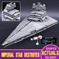 LEPIN 05027 3250 Unids Star Wars Emperador combatientes nave Modelo Kit de Construcción de Ladrillos de Juguete Bloques Educativos Compatible 10030