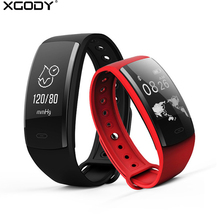 XGODY QS90 Sport Watch Smart Watch With Heart Rate Monitor Fitness Tracker Bracelet Waterproof Smartwatch for Android iphone IOS