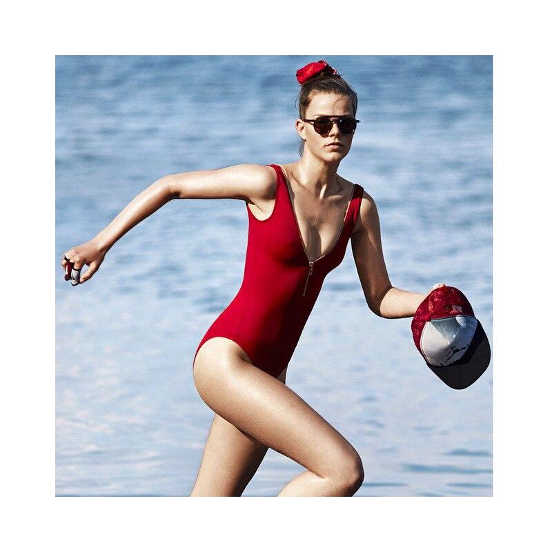 2017 Yeni Seksual Bikini Qırmızı Braziliyalı bikini - İdman geyimləri və aksesuarları - Fotoqrafiya 4