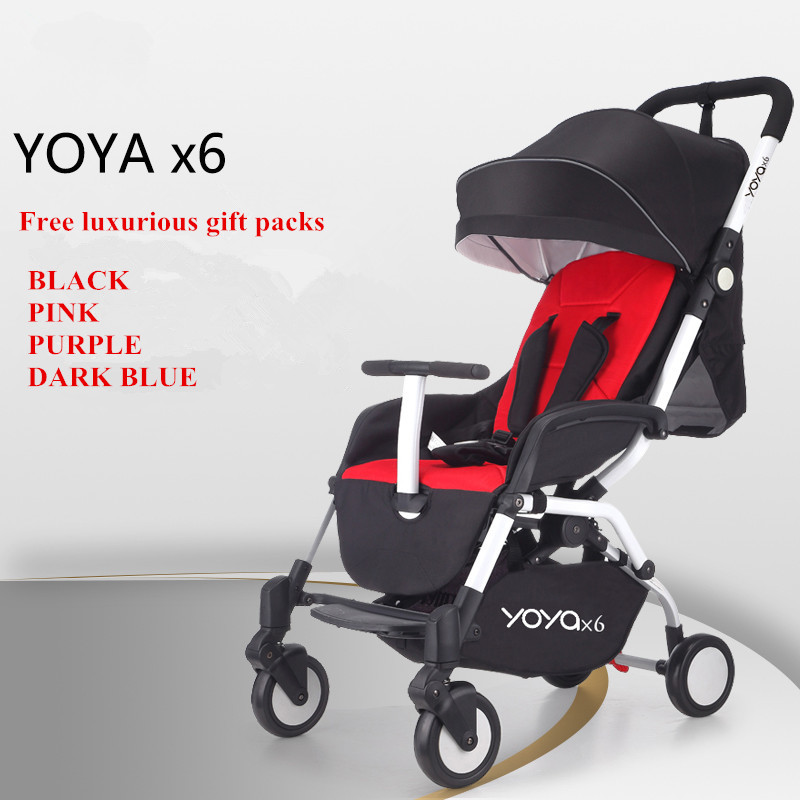 European Luxury Folding Baby Umbrella Stroller Baby Car Carriage Kid Buggy Pram Travel Baby Wagon Lightweight Portable in stock 2017 100% original yoya travel baby stroller wagon portable folding baby stroller lightweight pram with brands buggy