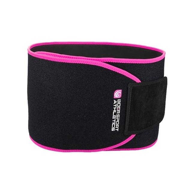 Adjustable Waist Back Support Waist Trainer Trimmer Belt Sweat Belt for Gym Fitness Weightlifting Tummy Slim Belts 4
