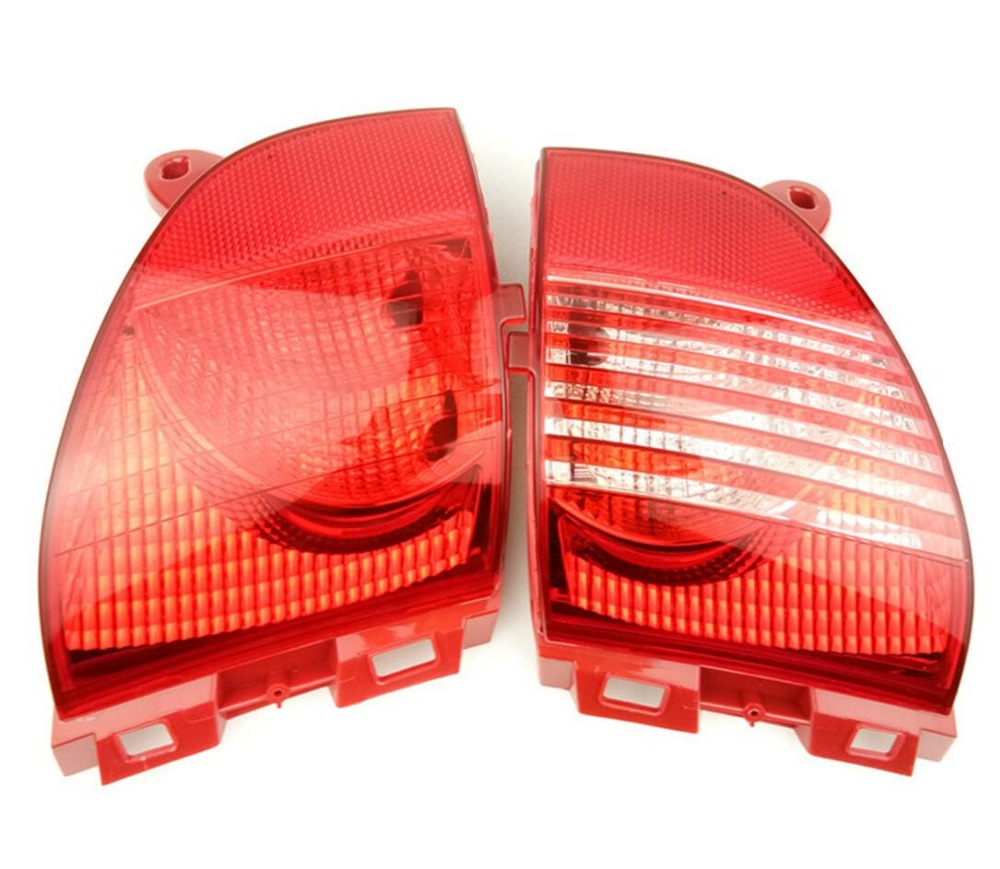 rear fog lights and brake lights fog lamp assembly for Peugeot 2008 308CC for Citroen C3XR rear bumper brake lights tail lights for great wall pickup truck wingle 6 tail lamp assembly rear lights assembly