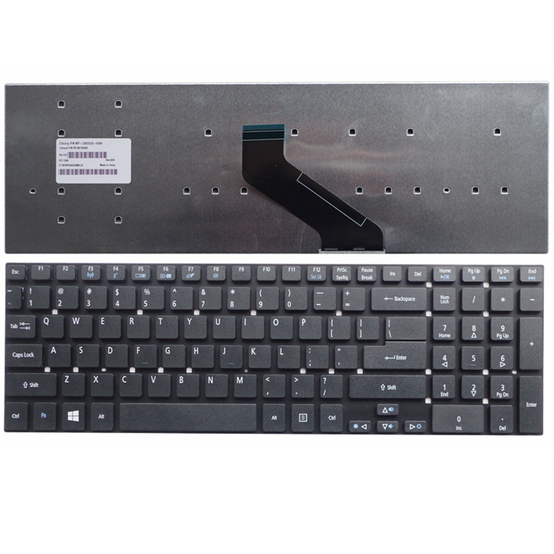 English Keyboard for Acer for Aspire V3-551 V3-551G V3-571 V3-571G V3-731 V3-771 V3-771G US laptop Keyboard