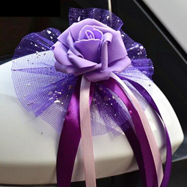 Online Shop New 6pcslot Wedding Car Decoration Diy Wedding Flower
